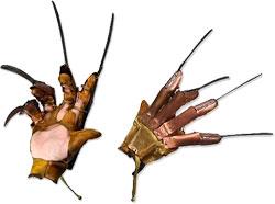 Кошмар на Улице Вязов 1984 - Металлическая Перчатка Фредди Крюгера Делюкс