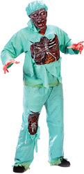 Костюм Зомби Доктора Делюкс 2