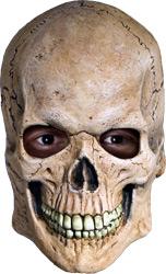 Маска человеческий череп Делюкс