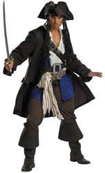 Пираты Карибского Моря - Костюм Капитана Джека Воробья Премиум