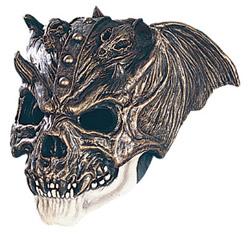Титановый череп воина (маска)