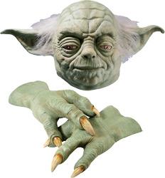 Звездные Войны - Маска и перчатки мастера Ёды Делюкс